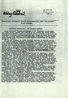 Wolny Robotnik, 1986, nr 1