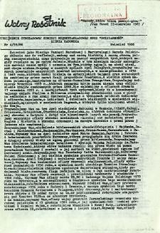 Wolny Robotnik, 1986, nr 4