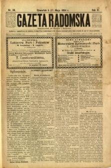 Gazeta Radomska, 1894, R. 11, nr 39
