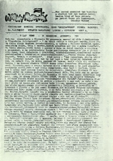 Wolny Robotnik, 1987, nr 7/8