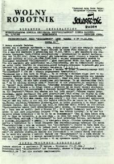 Wolny Robotnik, 1988, nr 3