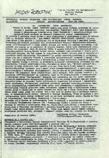 Wolny Robotnik, 1988, nr 8
