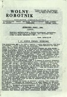 Wolny Robotnik, 1989, nr 1