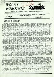 Wolny Robotnik, 1989, nr 10
