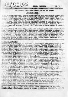 NSZZ Solidarność Ziemia Radomska, 1983, nr 9