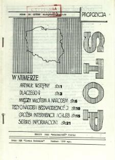 Stop, [1981] - propozycja