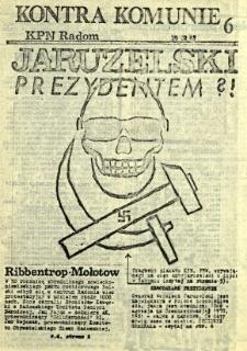 Kontra Komunie, 1989, nr 6