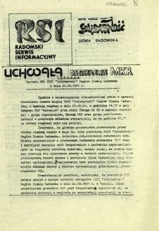 Radomski Serwis Informacyjny, 1981, nr [8]
