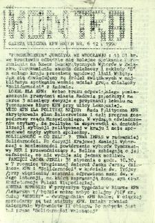 Kontra Gazeta Uliczna, 1990, nr 6