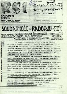 Radomski Serwis Informacyjny, 1981, nr [14/15]