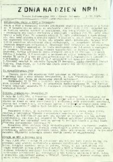 Z Dnia na Dzień, 1981, nr 11