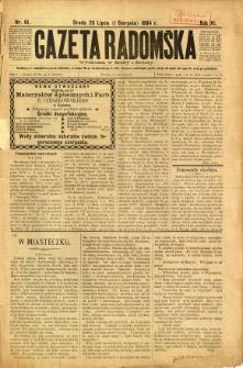 Gazeta Radomska, 1894, R. 11, nr 61