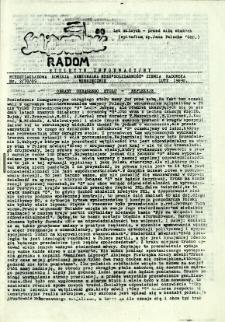 Biuletyn Informacyjny Solidarność Radom, 1989, nr 2