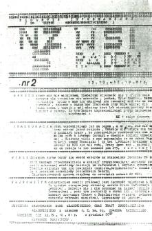 Biuletyn Informacyjny NSZ WSI Radom, 1981, nr 2
