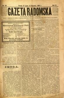 Gazeta Radomska, 1894, R. 11, nr 63