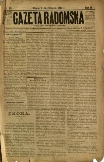 Gazeta Radomska, 1894, R. 11, nr 65