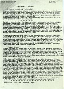 "Informator Radomski : Z procesu radomskiej ""jedenastki"""