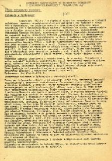 """Komunikat nadzwyczajny do wszystkich działaczy i członków """"Solidarności"""""""