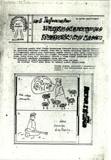 Informator Strajku Okupacyjnego Studentów WSI Radom, 1981, nr 3