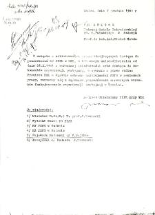List otwarty studentów WSI Radom