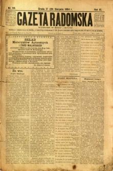 Gazeta Radomska, 1894, R. 11, nr 69