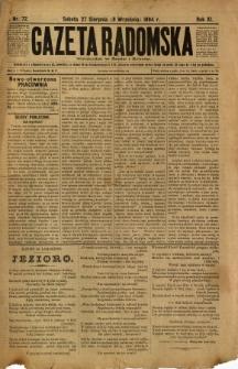 Gazeta Radomska, 1894, R. 11, nr 72