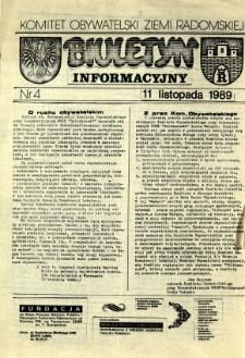 Biuletyn Informacyjny, R. 1989, nr 4