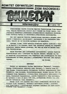 Biuletyn Informacyjny, R. 1989, nr 1