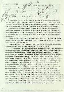 Komunikat, z dnia 25 sierpnia 1981 r.