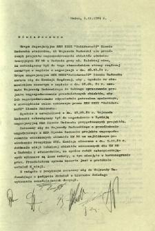 Oświadczenie. Grupa Negocjacyjna MKR NSZZ ...
