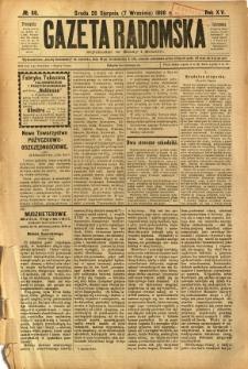 Gazeta Radomska, 1898, R. 15, nr 68