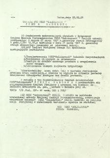 """Uchwała NSZZ """"Solidarność"""" Ziemia Radomska, z dnia 25 marca 1981 r."""