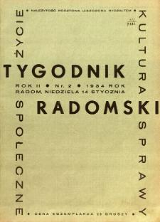 Tygodnik Radomski, 1934, R. 2, nr 2