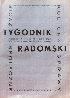 Tygodnik Radomski, 1934, R. 2, nr 8