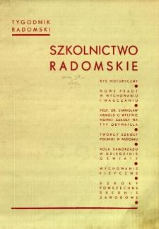 Tygodnik Radomski, 1934, R. 2, nr 18