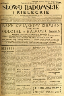Słowo Radomskie i Kieleckie, 1923, R.2, nr 4