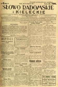 Słowo Radomskie i Kieleckie, 1923, R.2, nr 8