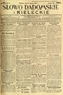 Słowo Radomskie i Kieleckie, 1923, R.2, nr 12