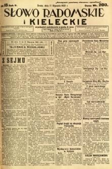 Słowo Radomskie i Kieleckie, 1923, R.2, nr 15