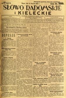 Słowo Radomskie i Kieleckie, 1923, R.2, nr 17