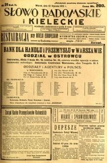 Słowo Radomskie i Kieleckie, 1923, R.2, nr 21