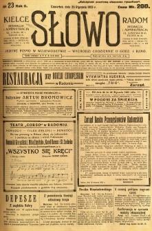 Słowo, 1923, R.2, nr 23