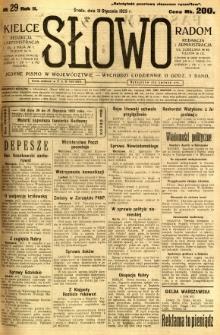 Słowo, 1923, R.2, nr 29
