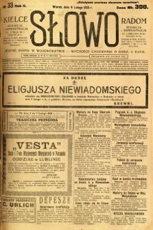 Słowo, 1923, R. 2, nr 33