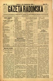 Gazeta Radomska, 1898, R. 15, nr 79