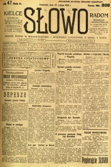 Słowo, 1923, R. 2, nr 47