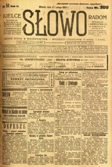 Słowo, 1923, R. 2, nr 51
