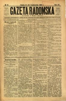Gazeta Radomska, 1898, R. 15, nr 81