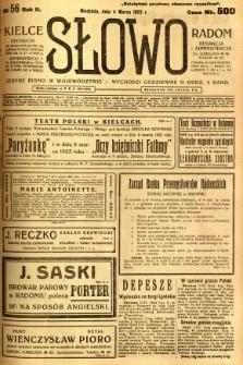 Słowo, 1923, R. 2, nr 56