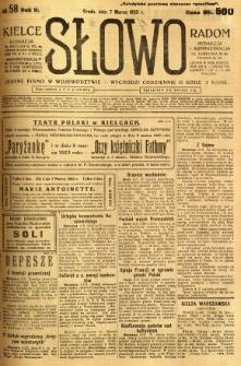 Słowo, 1923, R. 2, nr 58